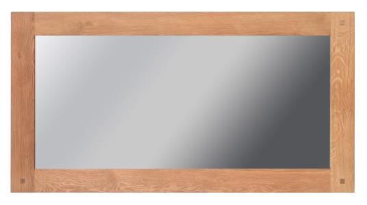 Lot 1201 - Oregon Rectangular Mirror 80 X 150cm Oiled Oak