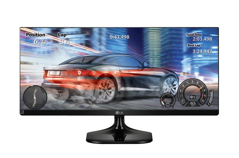 Lot 16019 - V Grade A LG 34 Inch ULTRA WIDE FULL HD IPS LED MONITOR - 2560 X 1080P - HDMI X 2 34UM58-P