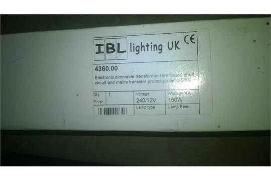 Quany 2 Ibl Lighting Uk Dimmable Electronic Transformers
