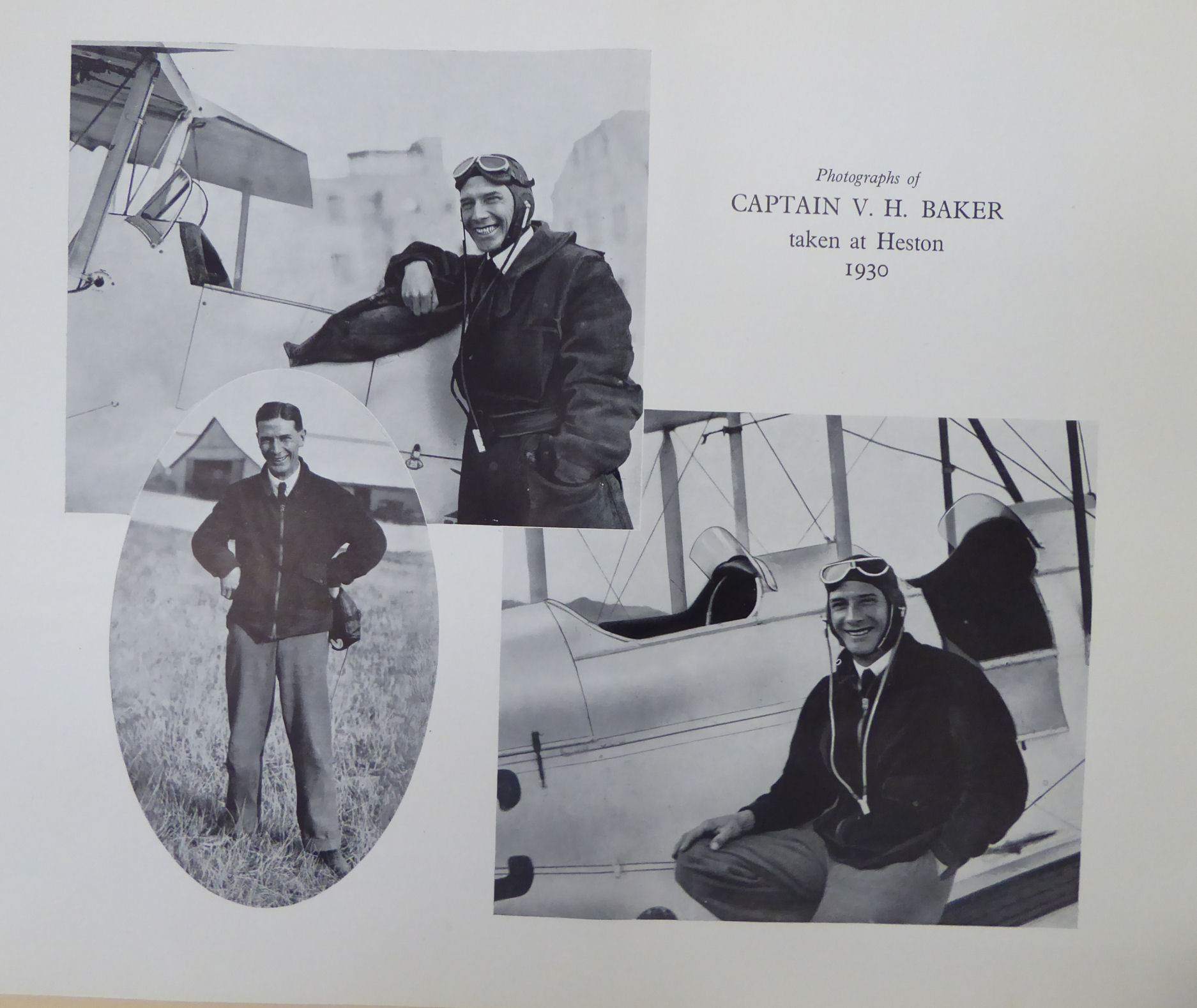 Lot 59 - 'In memory of a fearless pilot, Capt.