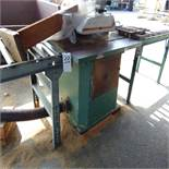 12'' Table Saw w/ In/Outfeed Conveyor