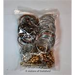 *Bag of costume jewellery, mostly bangles (Lot subject to VAT)