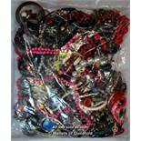 Sealed bag of costume jewellery, gross weight 3.11 kilograms