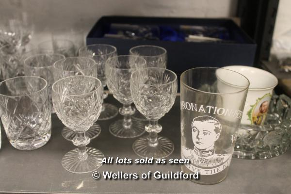 A quantity of cut glass wares. - Image 2 of 4