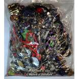 Sealed bag of costume jewellery, gross weight 4.20 kilograms