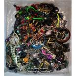 Sealed bag of costume jewellery, gross weight 3.77 kilograms