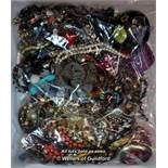 Sealed bag of costume jewellery, gross weight 3.54 kilograms