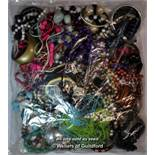 Sealed bag of costume jewellery, gross weight 3.52 kilograms