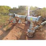 LOT: Large Assortment 316 SS Valves, Pipe, 4 In. Thru 12 In. (Located Lower Yard)(LOCATED IN HENNESS