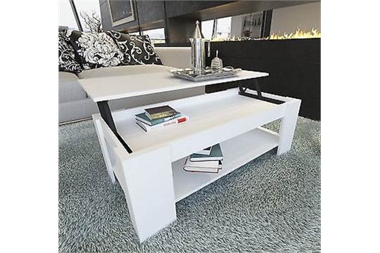 """1 x """"Caspian"""" Lift Up Top Coffee Table with Storage"""