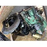 Located in Canon City CO: Crate of CPM 7000 parts including cartridge, quill, shear pin outer,