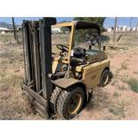 Located in Canon City CO: Hyster 8000lbs forklift with updated tires, double mast, propane,