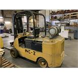Located in Canon City CO: Cat Towmotor forklift, 12,000lbs, lp, 8' forks, currently in use and