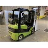 Located in Canon City CO: Clark forklift, C25CL approx 5000lbs, LP, tilt, side shift, solid tires,