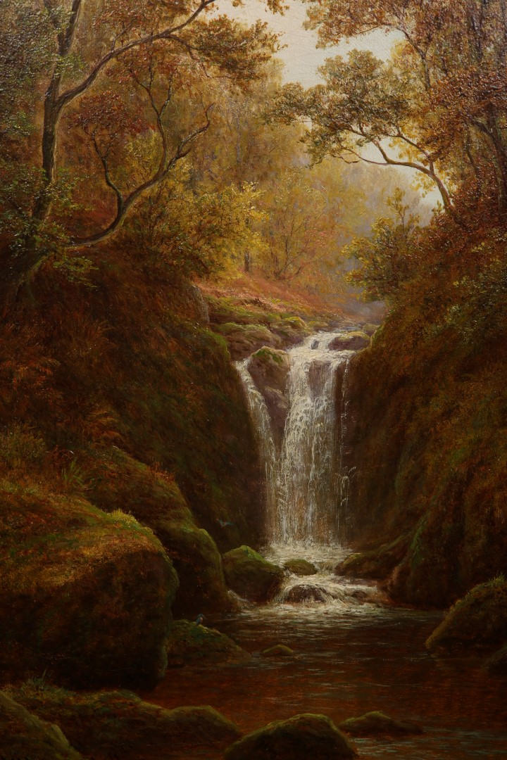 Lot 511A - WILLIAM MELLOR (1851-1931), FALCON GHYLL, NEAR KESWICK, CUMBERLAND, signed lower left,