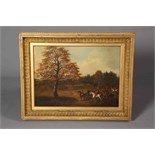 Lot 514 - ATTRIBUTED TO JOHN DALBY OF YORK (1810-1865), THE HUNT MEET, SETTING OFF,