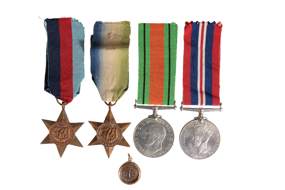 Lot 1 - A 617 SQUADRON CASUALTY GROUP TO WIRELESS OPERATOR JAMES STEVENSON SIMPSON