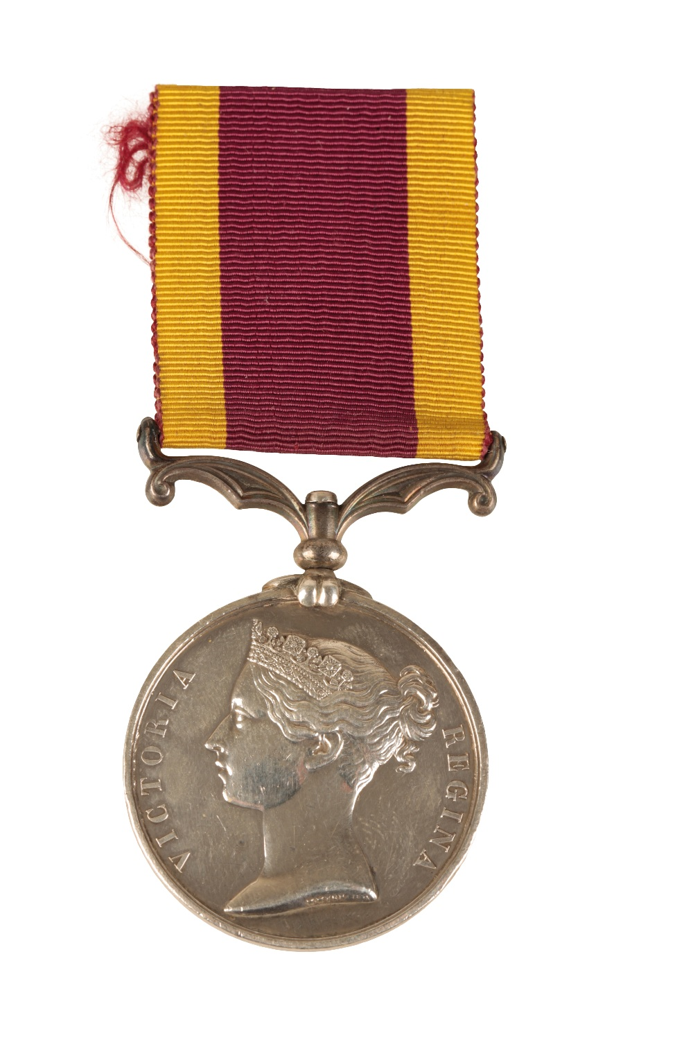 Lot 38 - SECOND CHINA WAR MEDAL UNNAMED