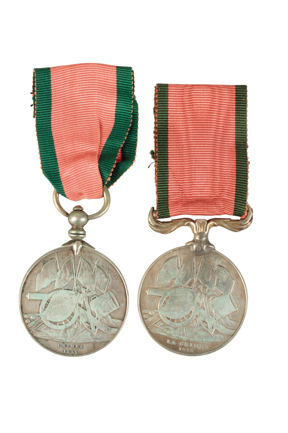 Lot 49 - PAIR OF FRENCH CRIMEA & TURKISH CRIMEA MEDALS