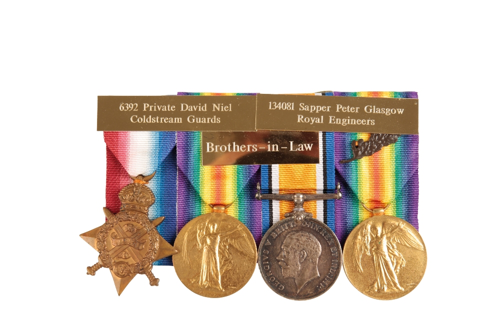 Lot 27 - A GREAT WAR - FAMILY CASUALTY GROUP