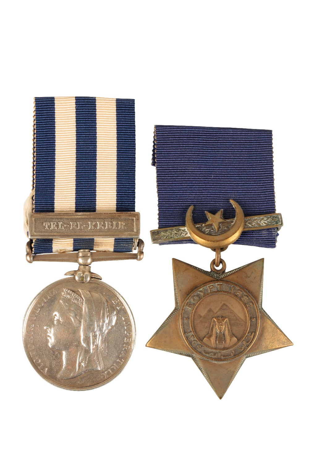 Lot 52 - EGYPT MEDAL & KHEDIVES STAR TO 706 PTE W KENNEDY HIGHLAND LIGHT INFANTRY