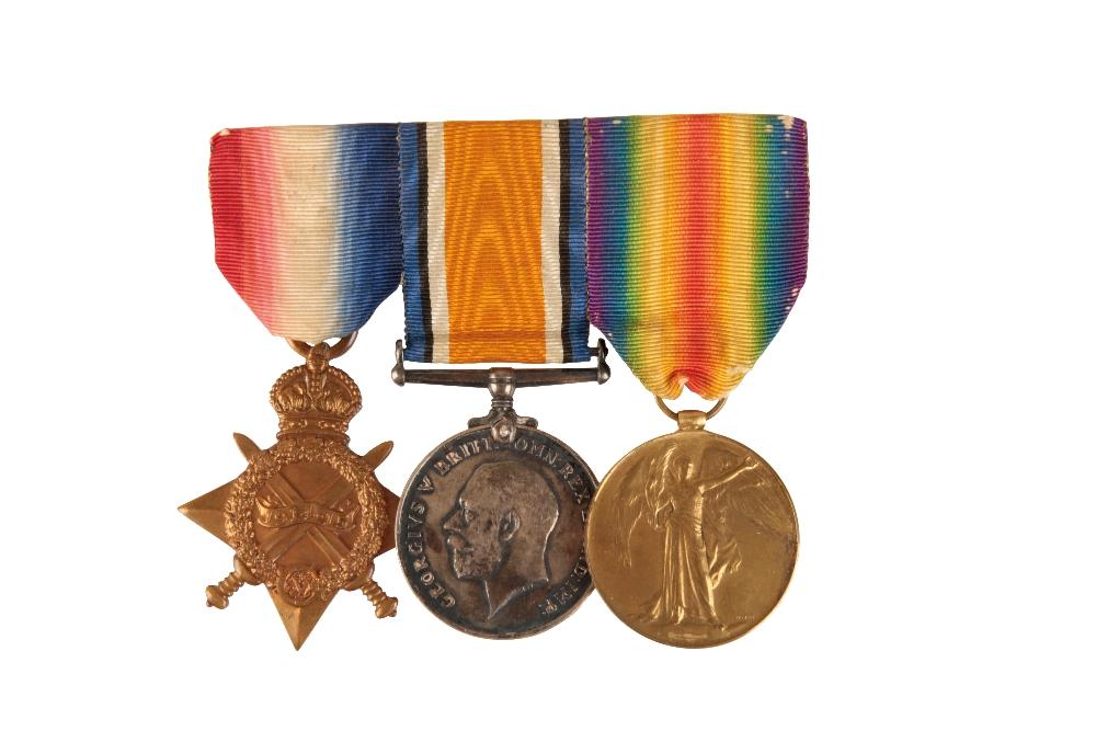 Lot 33 - 1914/15 TRIO TO COMMANDER PELLOWE ROYAL NAVY