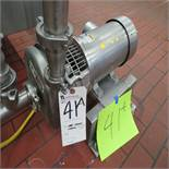 S.S. Centrifugal 5hp Pump, 2'' In, 2'' Out (No Pipe)