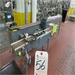 Metal Tabletop Conveyors, 8'' x 10'L & 6'' x 52''L