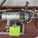 S.S. Centrifugal 5hp Pump, 2'' In, 2'' Out