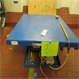 Global mod. EHLT-4848, Scissor Lift Platform 4' x 4'