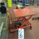 Presto Electric Lift Cart, 1500lb. Max Cap, Approx. 45'' Lift
