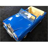 A Sharna (Tri-ang) Rolls Royce Corniche Pedal Car C1970s with Silver Lady mascot and highly