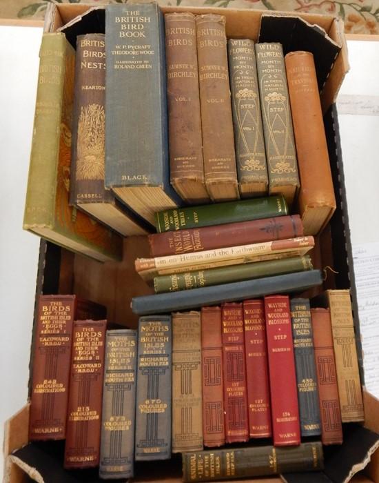 "Lot 43 - Various books on ornithologyincluding:- Green, Roland (ills) ""The British Bird Book"" Kearton """