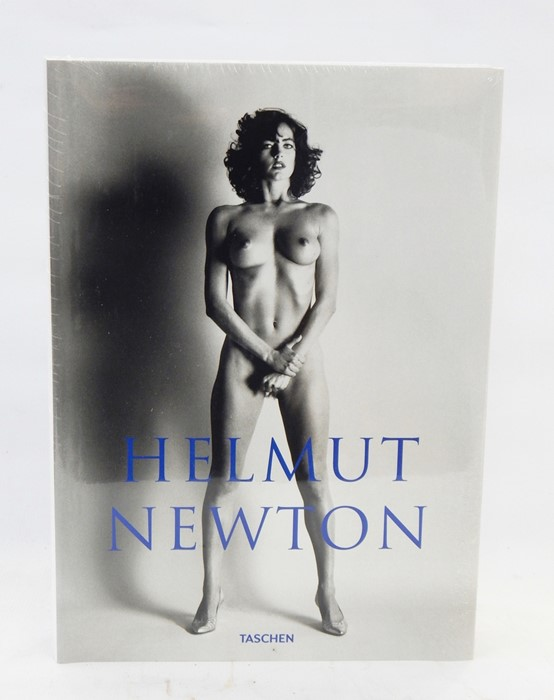 Lot 11 - Helmut Newton publ by Taschen, with perspex book stand, sealed, in original box, 38cm x 27.5cm (this