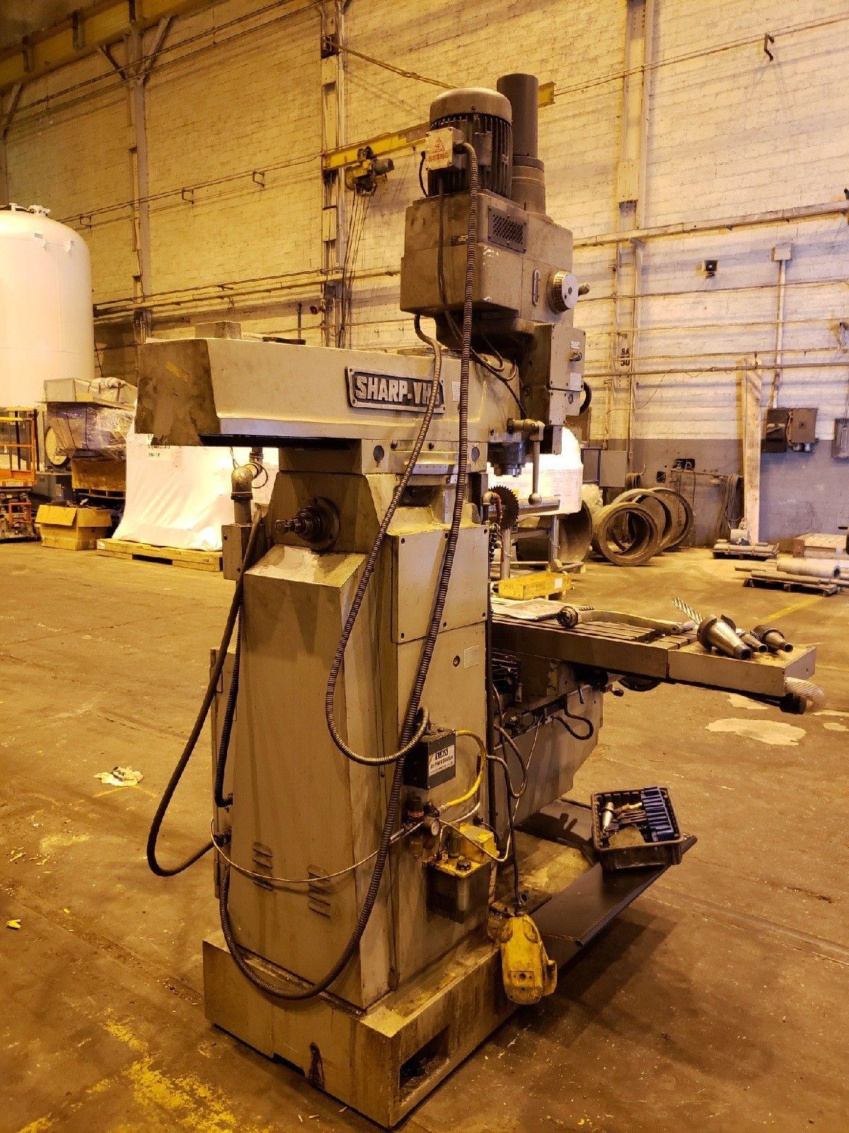 Lot 30D - 1999 Sharp VH3 Vertical Horizontal Mill Milling Machining Machine - Free Loading