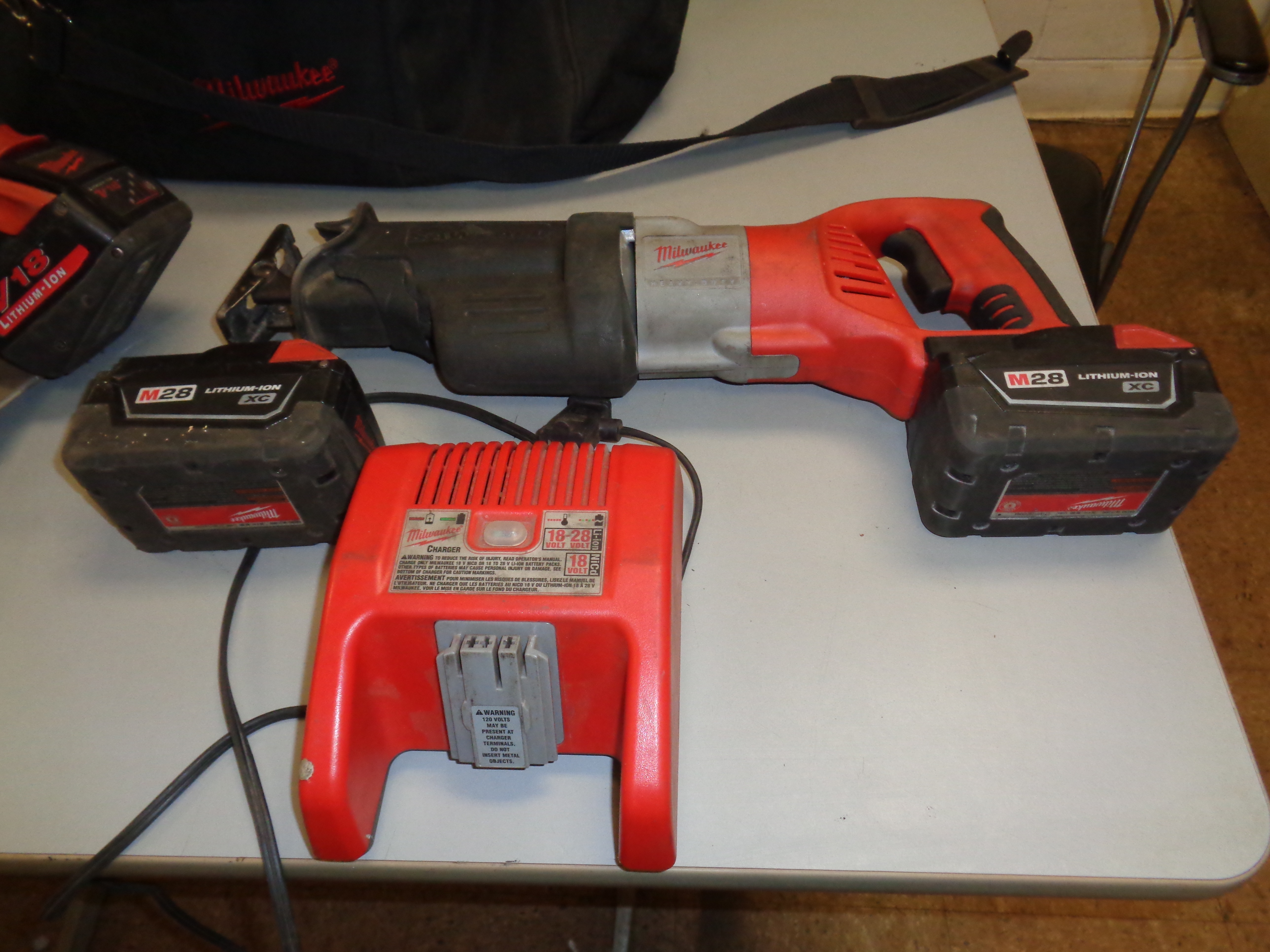 Lot 16 - Lot of Milwaukee Saws