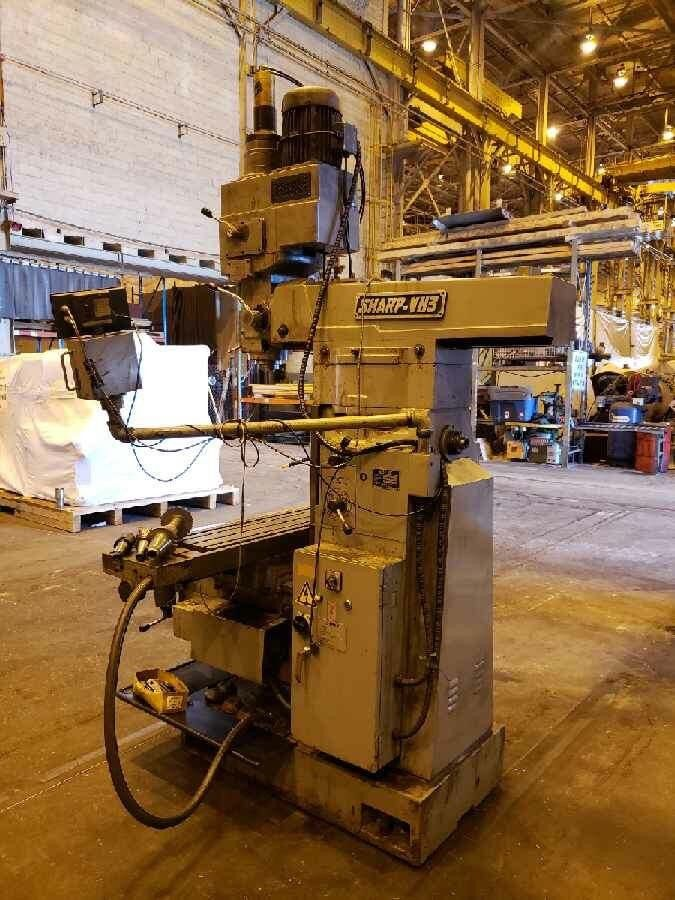 Lot 30C - 2004 Sharp VH3 Vertical & Horizontal Mill Milling Bridgeport Machining Center