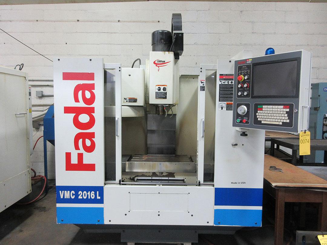 Lot 26 - 2004 Fadal VMC 2016L CNC Vertical Machining Center