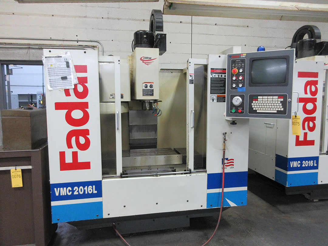 Lot 27 - 2000 Fadal VMC 2016L CNC Vertical Machining Center