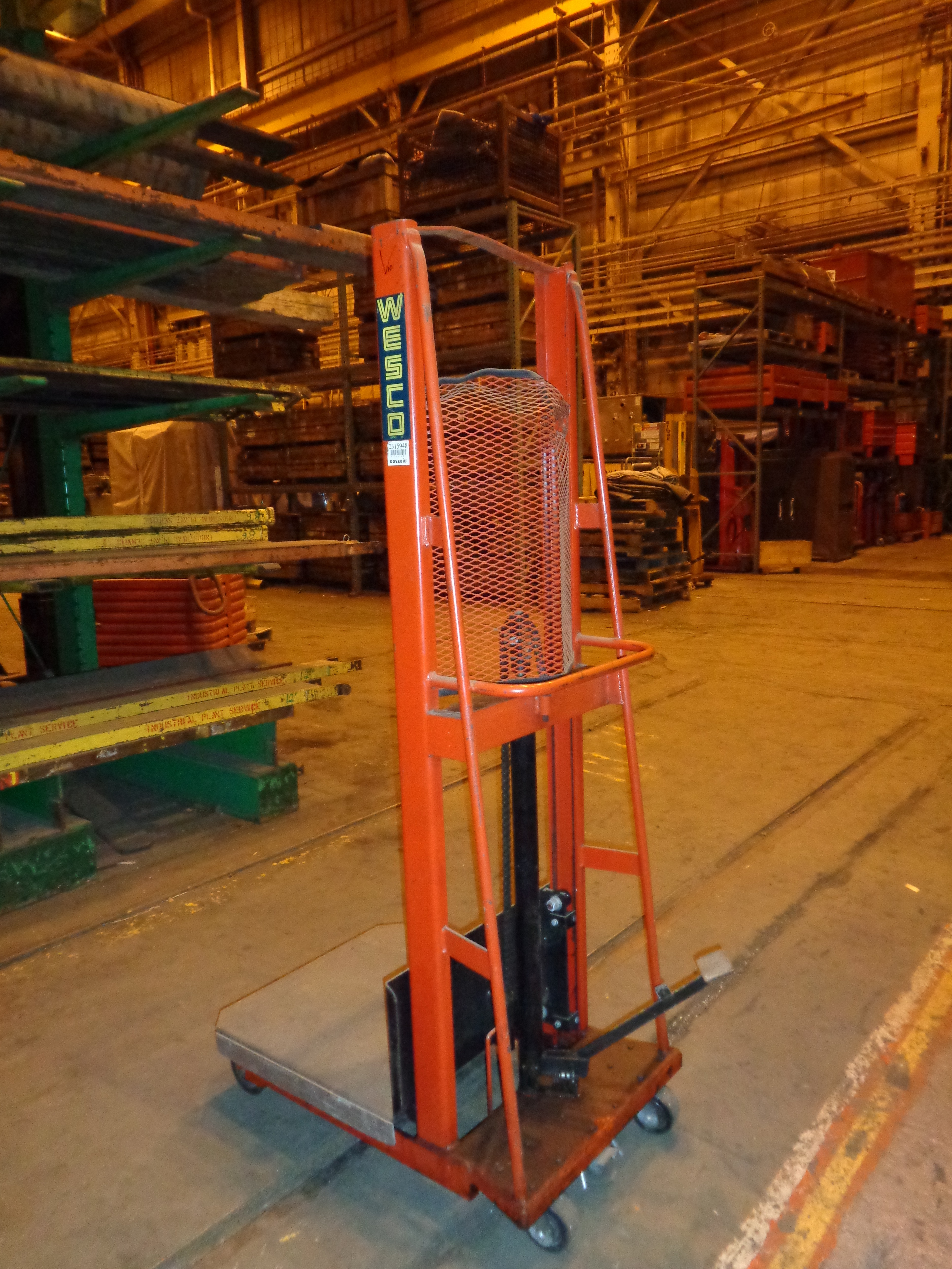 Lot 25A - Wesco Die Lifter (10)