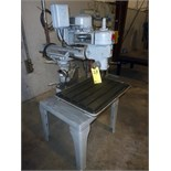 """RAM TYPE RADIAL DRILL, ROCKWELL/DELTA MDL. 15-20, spds: 175-8250 RPM, 26"""" x 18"""" table, S/N"""