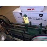 TRUCK MOUNT GAS BOTTLE SUPPLY RACK, w/retractable hose reel (Location M-Houston)