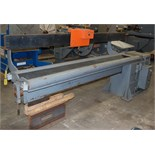 """SEAM WELDING MACHINE, AIRLINE 120"""", variable spd. travel carriage, pneu. clamping, powered"""