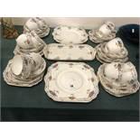 A Gladstone part tea set