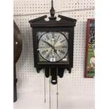 A decorative wall clock