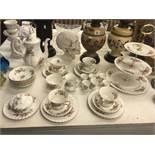 A qty of Royal Albert tea ware inc.
