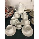 A Royal Standard coffee set