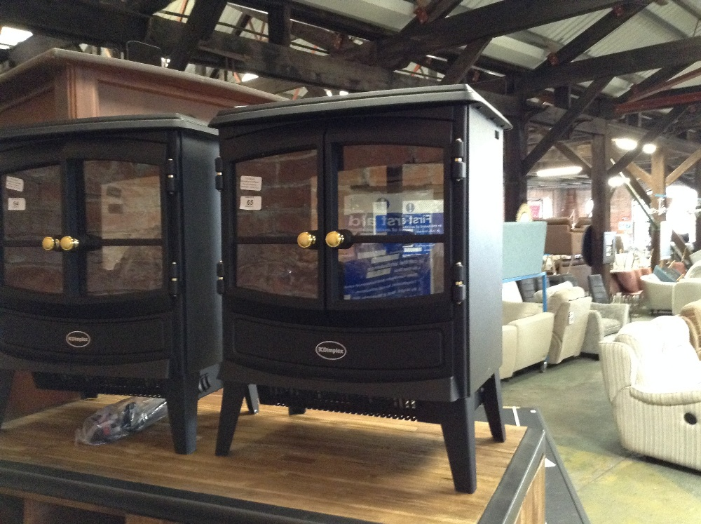 Lot 65 - Dimplex Springborne Optiflame Electric Fireplace (