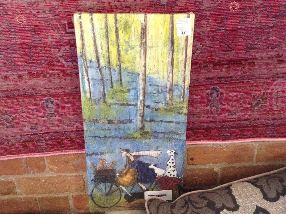 Lot 29 - East Urban Home 'Winter' by Sam Toft Print (CACA9763 - 12131/30)