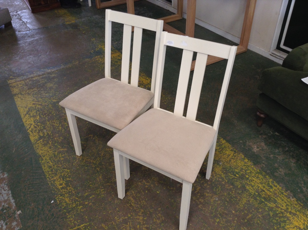 Lot 116 - August Grove Brookvale Solid Wood Dining Chair X 2